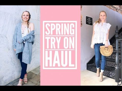2825a8c90f SPRING TRY ON HAUL: SHEIN, ROMWE, FREE PEOPLE & MORE - YouTube | The ...