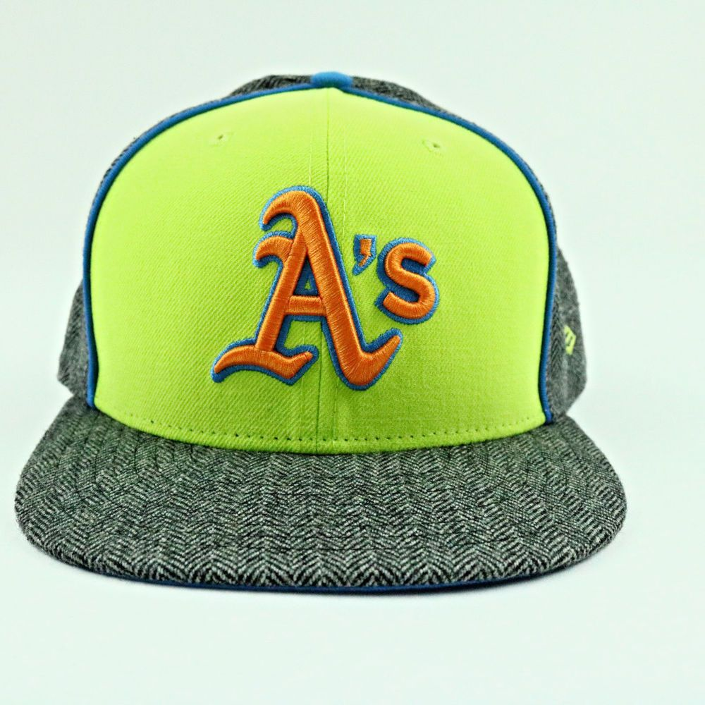 online retailer c47cd 6d651 ... discount code for oakland athletics unisex hat new era gray fitted mlb  baseball 59fifty cap 7