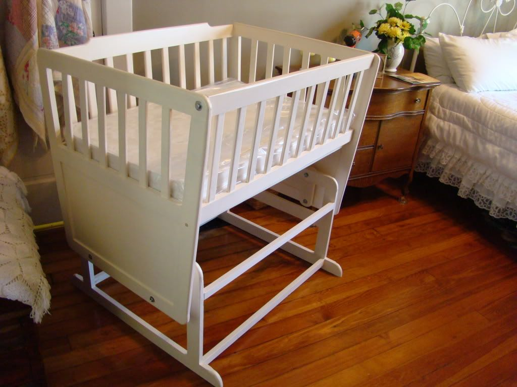 Oversized Glider Cradle For Twins Diy Projects Baby Cribs Baby