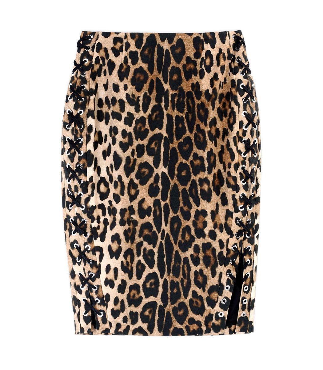 Altuzarra Fawn Leopard-Printed Pencil Skirt