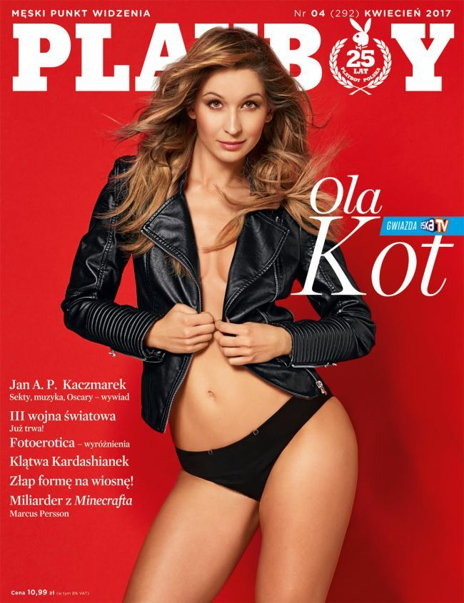 Ola Kot For Playboy Covers By Robby Cyron Playboy