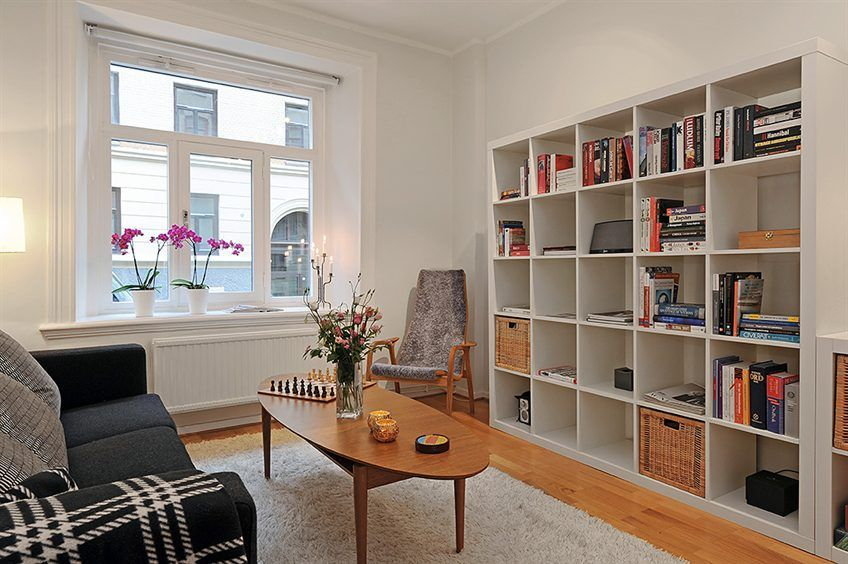 Room · scandinavian chic works magic for small