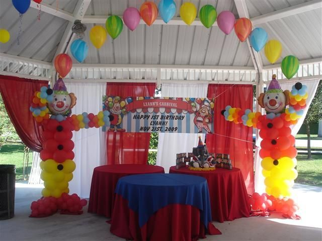 Carnival party decorations circus theme decoration from