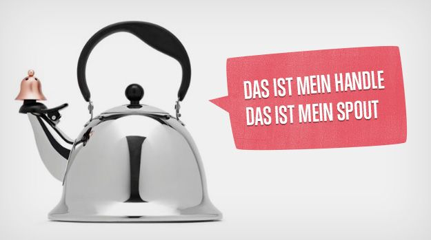 A teapot that looks like Hitler