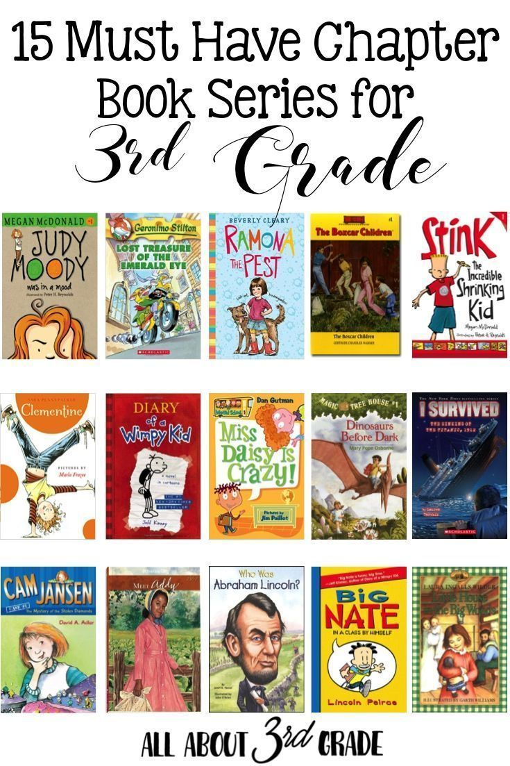 15 Must Have Chapter Book Series For 3rd Grade Students Http Www Allabout3rdgrade Com 3rd Grade Books 3rd Grade Chapter Books Third Grade Books