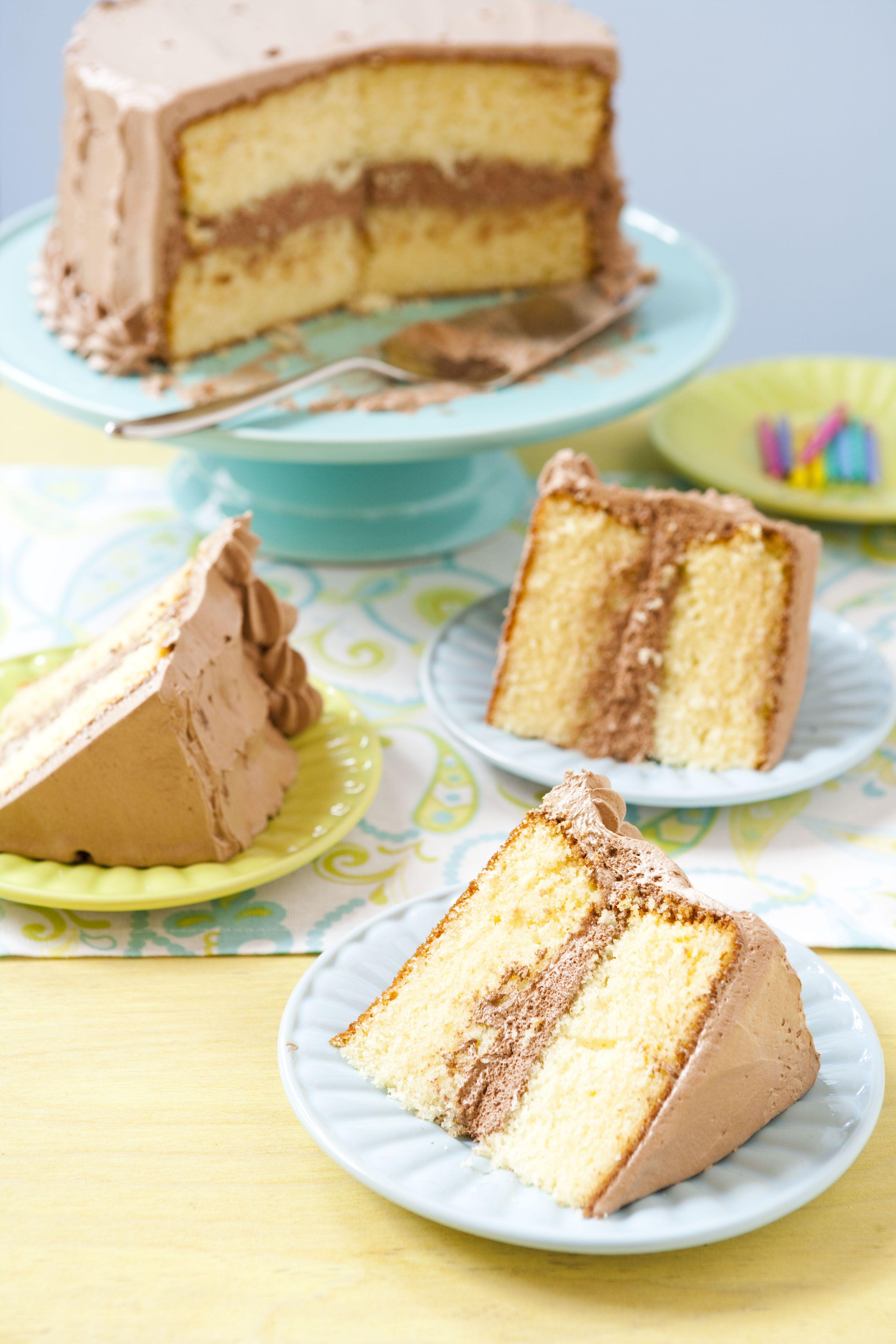 Flour Bakery S Yellow Birthday Cake Recipe Cake Recipes Yellow