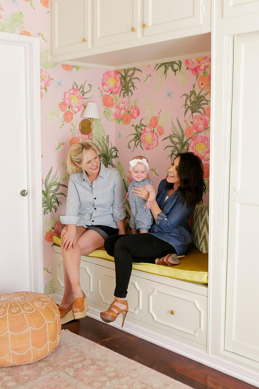 A Floral Glam Nursery Reveal
