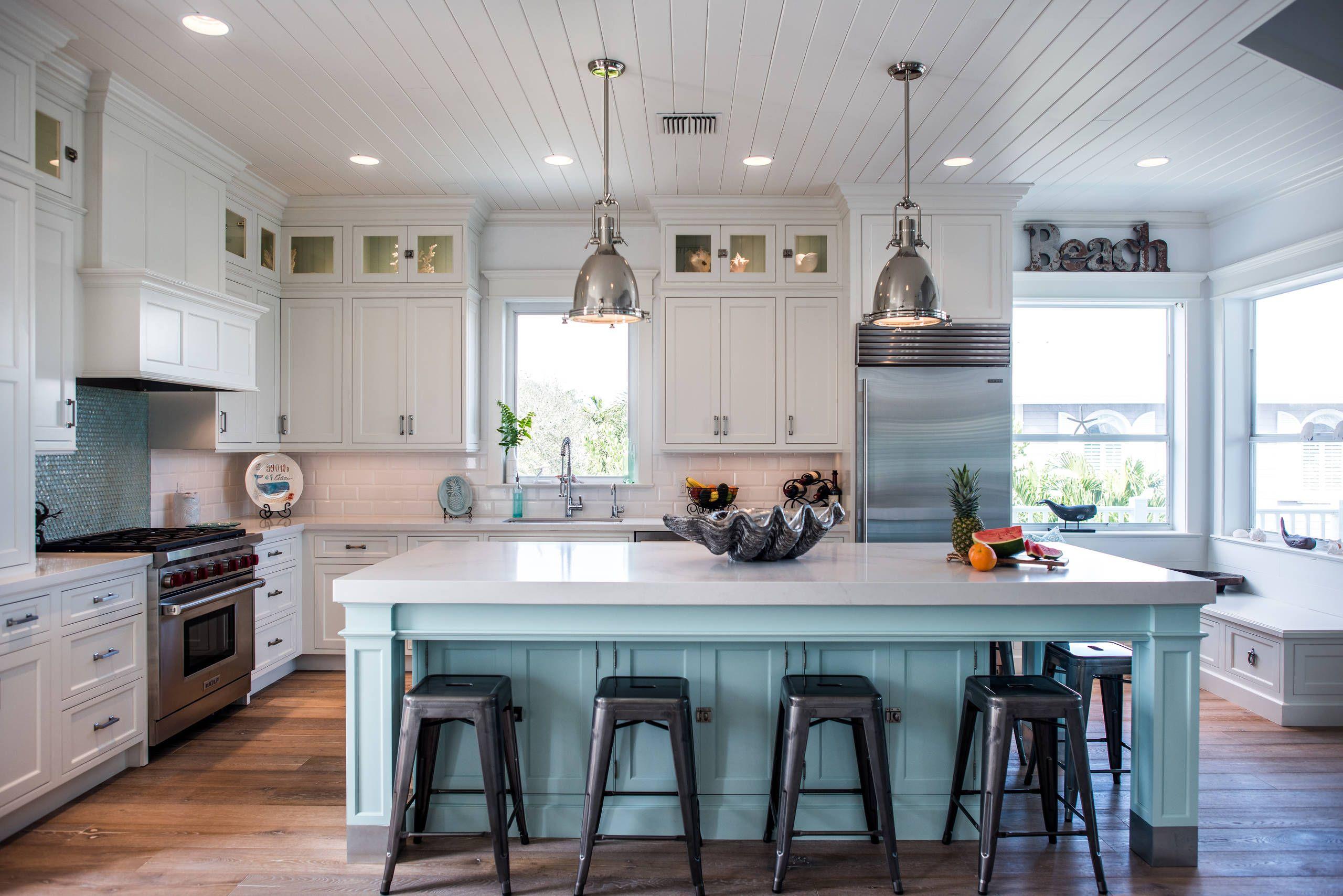 47 Beach Style Kitchen Designs And Ideas Beach Theme Kitchen