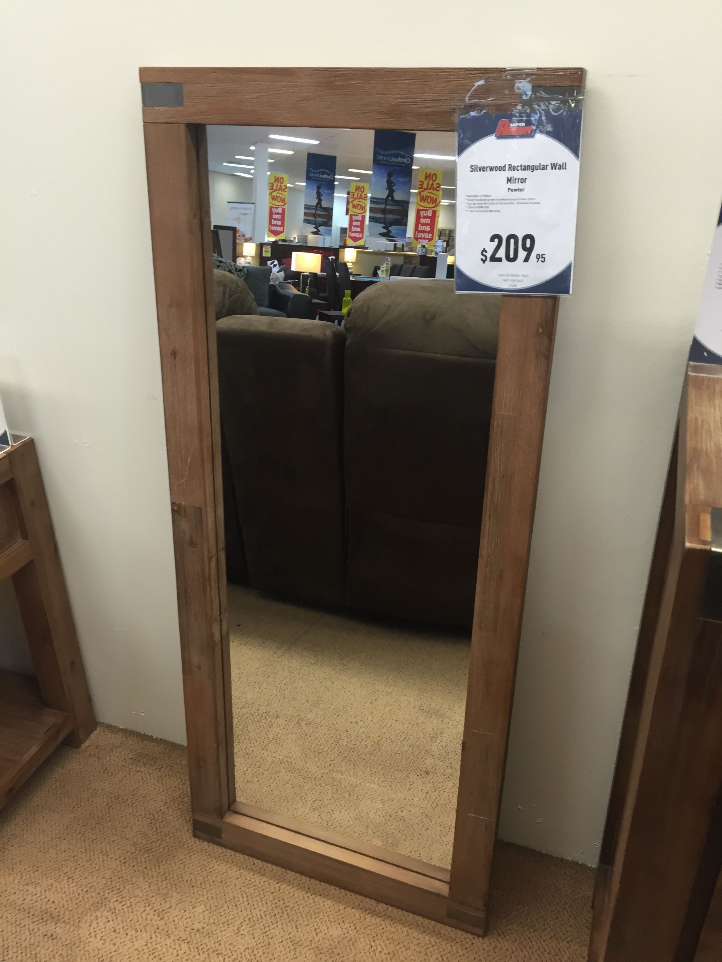 Silverwood mirror - Super Amart | Furniture | Pinterest | Dream ...
