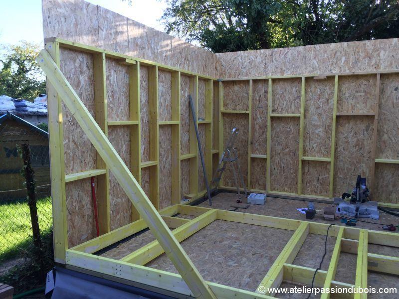 construction atelier bois palette bois Pinterest Construction