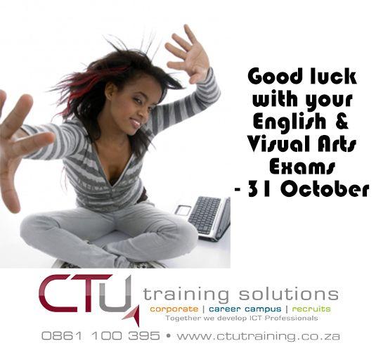 Good luck! www.ctucareer.co.za