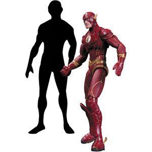 Dc Collectibles Injustice The Flash Vs Raven Action Figure 2 Pack Walmart Com Flash Vs Dc Collectibles Action Figures