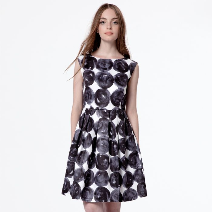 Harper Dress - Stacked Dots - Dear Creature