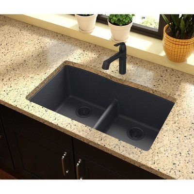Best Elkay Quartz Classic 33 L X 19 W Double Basin Undermount 400 x 300