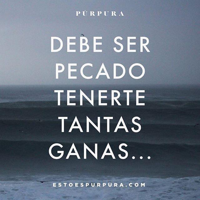 🙈#quote #estoespurpura #frasedeldia #picoftheday #purpurettes #frase #tuesday