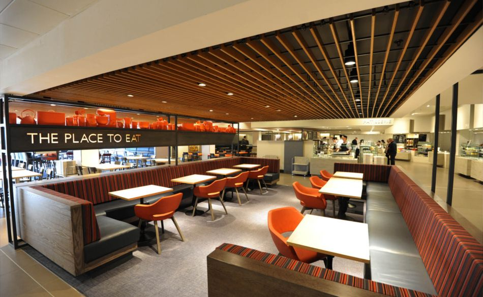 Great Retail Interior · Vertical Wood Slat ...