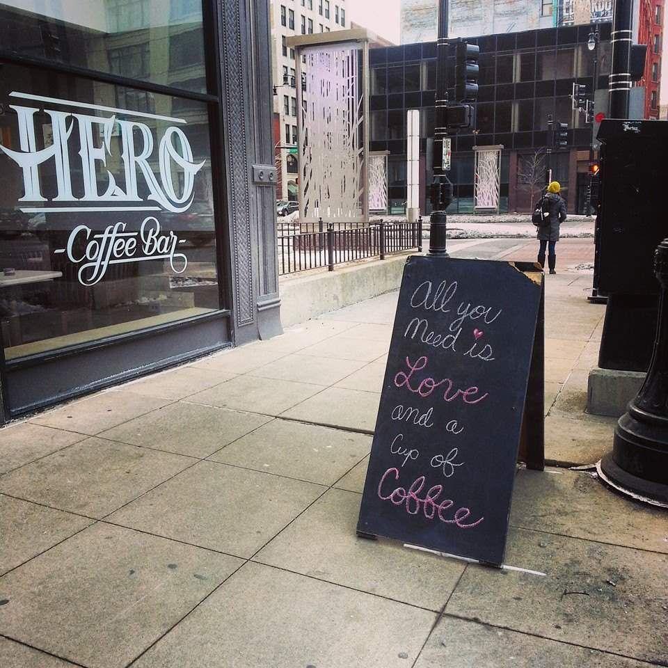Hero Coffee Bar Loop and Roscoe Village Coffee bar