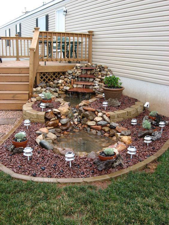 76 Backyard And Garden Waterfall Ideas Waterfalls Backyard Garden Yard Ideas Ponds Backyard