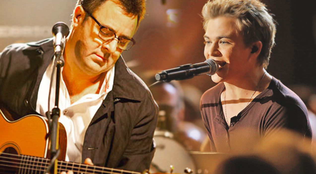 Hunter Hayes And Vince Gill Perform Together For The First Time
