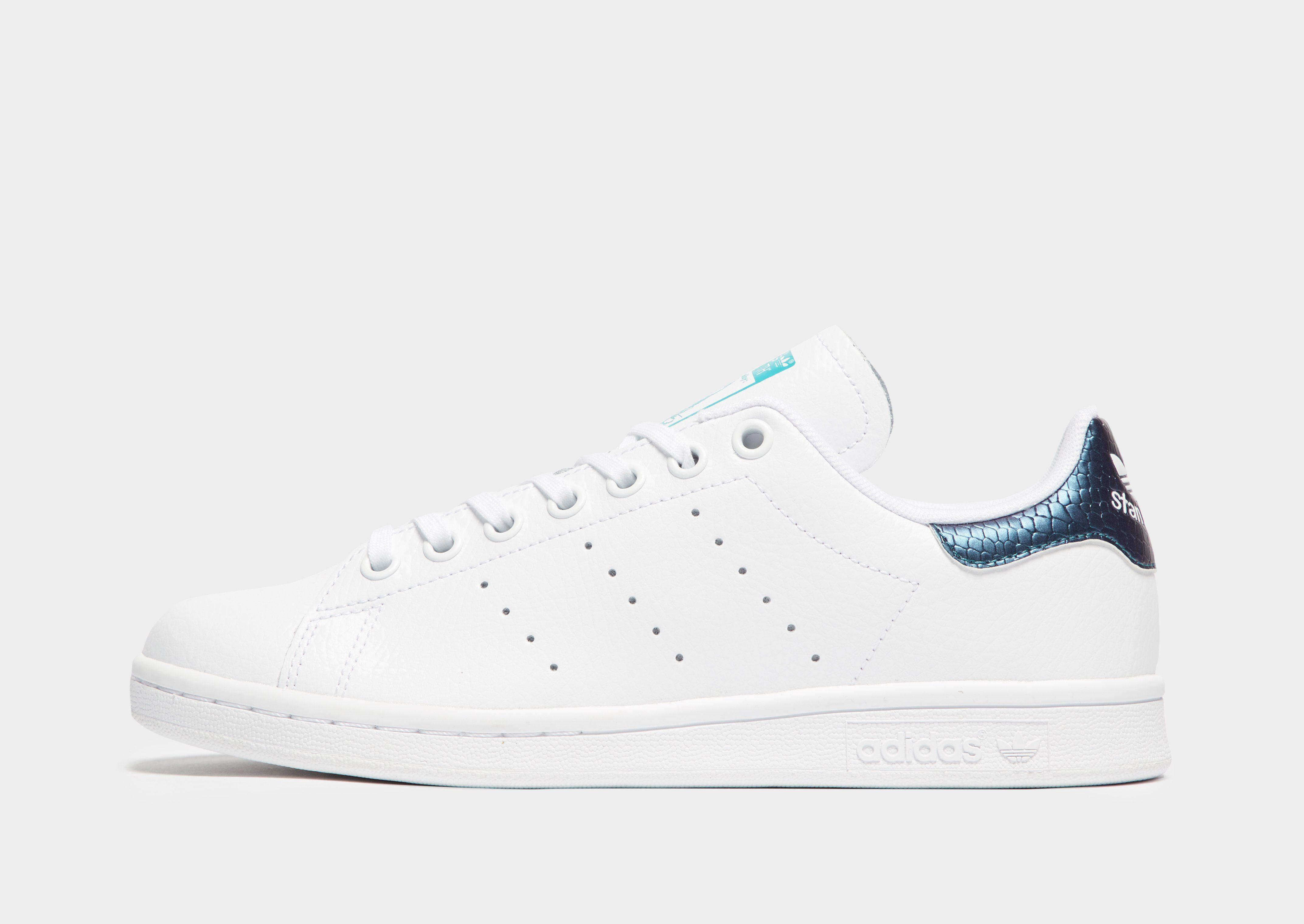 Skor Barn B55p1 | Adidas Originals Stan Smith J NoirNoir