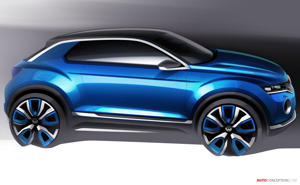 Volkswagen 'T-ROC' SUV Concept