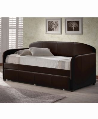 Springfield Daybed with Trundle - Brown images