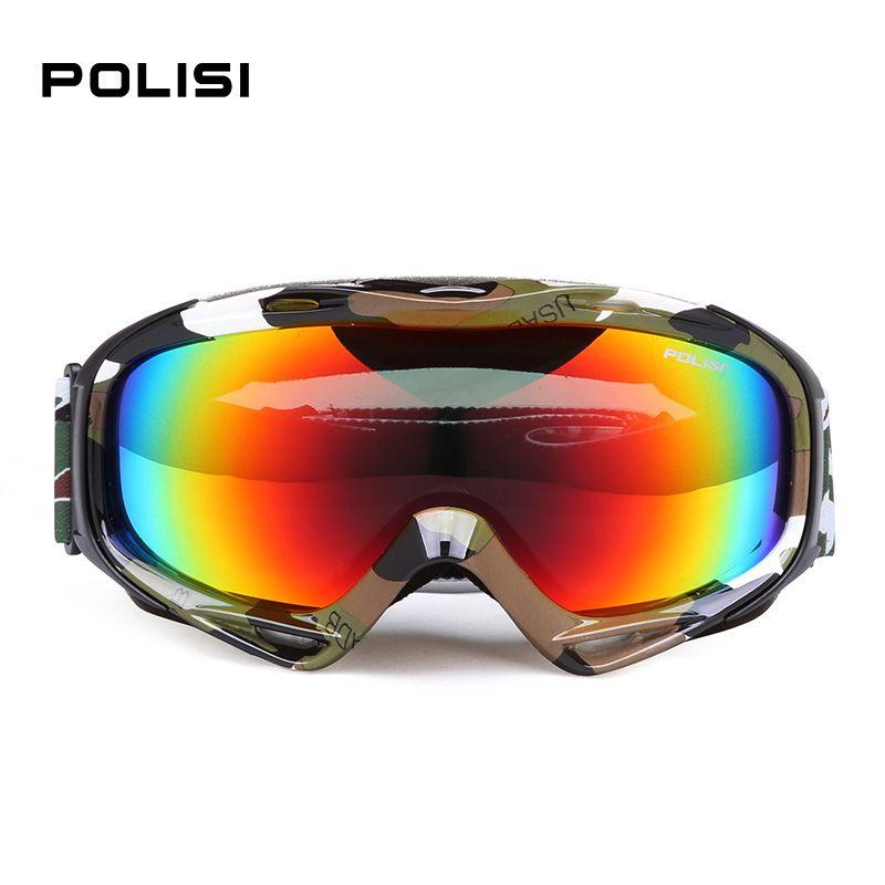 10db248b503e Free Shipping  Buy Best POLISI UV Protection Anti Fog Polarized Ski ...