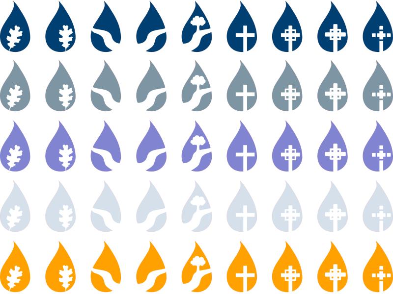 Teardrop Icons Icon Icon Design Teardrop