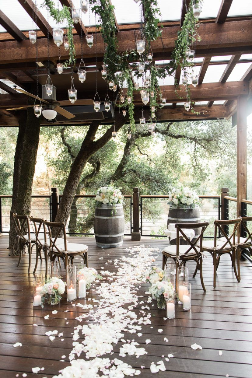 Elegantly Intimate California Wedding at Calistoga Ranch #ceremonyideas