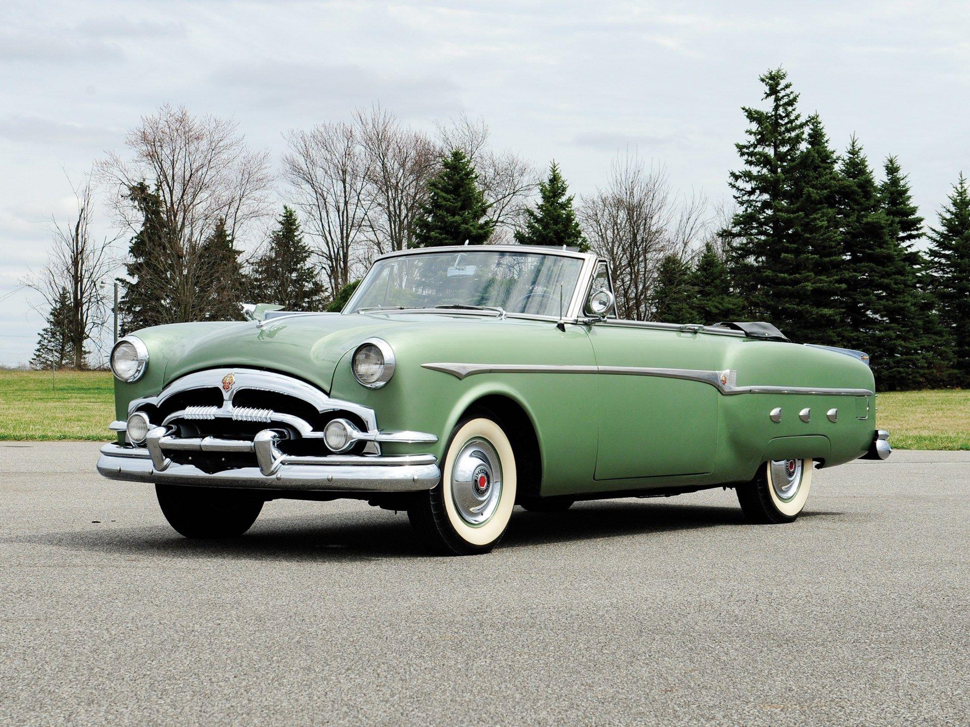 RM Sotheby's 1953 Packard Cavalier Convertible Auburn