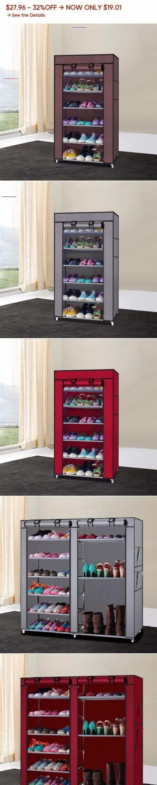7 Schicht Diy Schuhregal Lagerung Schuhe Veranstalter Schuhmacher