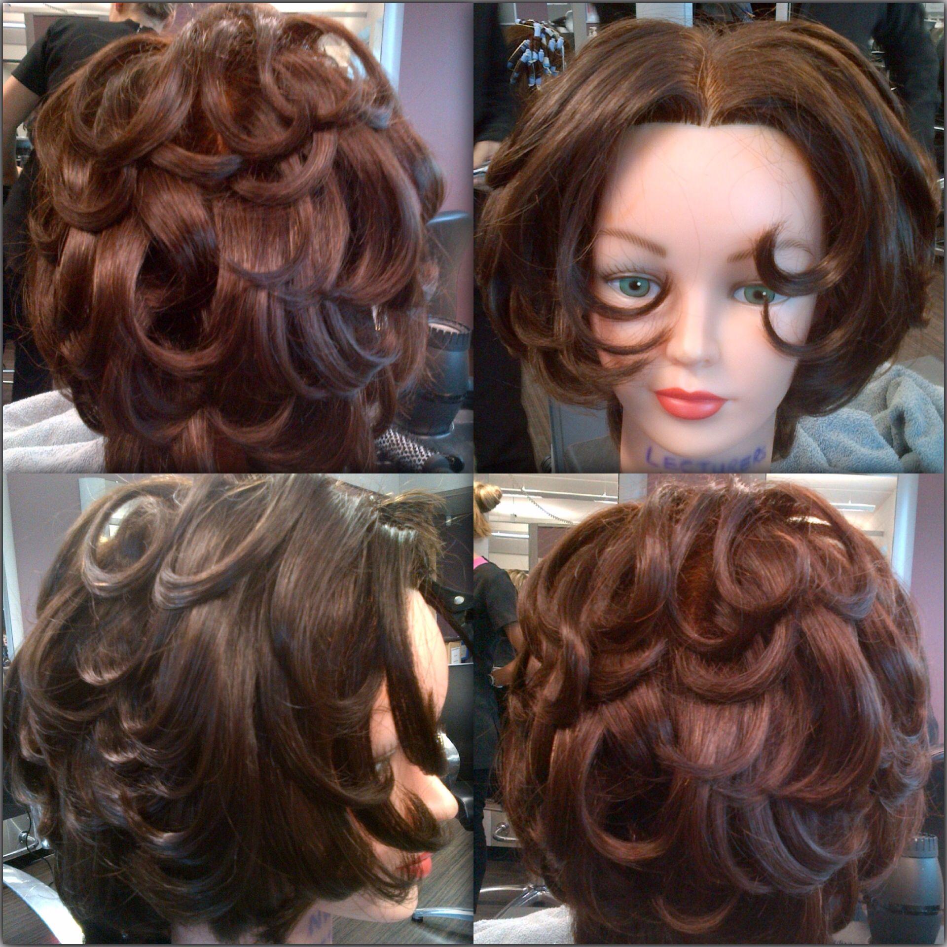 Flicky Blow Dry Short Layered Hair Hair Short Hair Styles Layered Hair