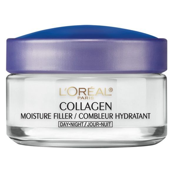L Oreal Paris Collagen Moisture Filler Day Night Cream 1 7oz Collagen Face Cream Collagen Cream Retinol Moisturizer