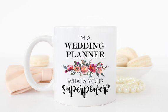 Wedding Planner Mug Wedding Planner Gift Gift For Wedding Planner