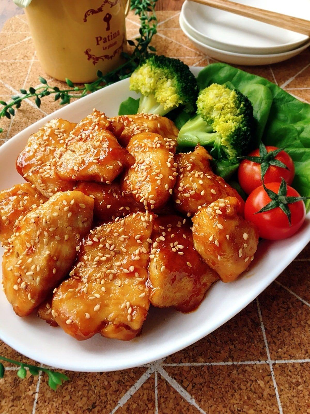胸 焼き 照り 鶏 肉