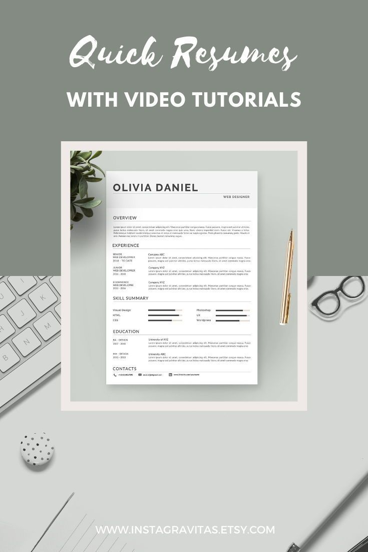 skills based resume template free download