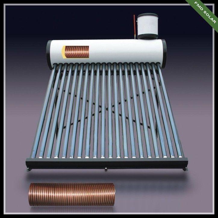 high pressure solar water heater1.heat pipe solar water heater 200L with copper coil inside the tank2.Certificate: SRCC, Sol