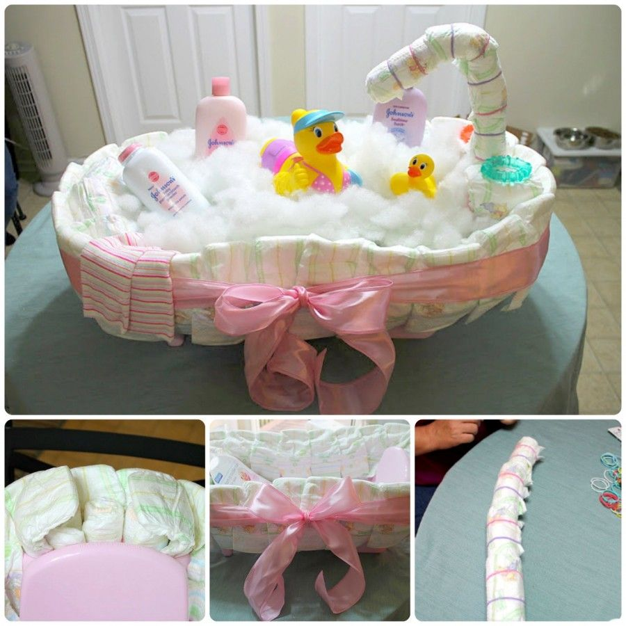 diy diaper cake tutorial is easy when you know how rubber duck diapers and diy diaper cake. Black Bedroom Furniture Sets. Home Design Ideas
