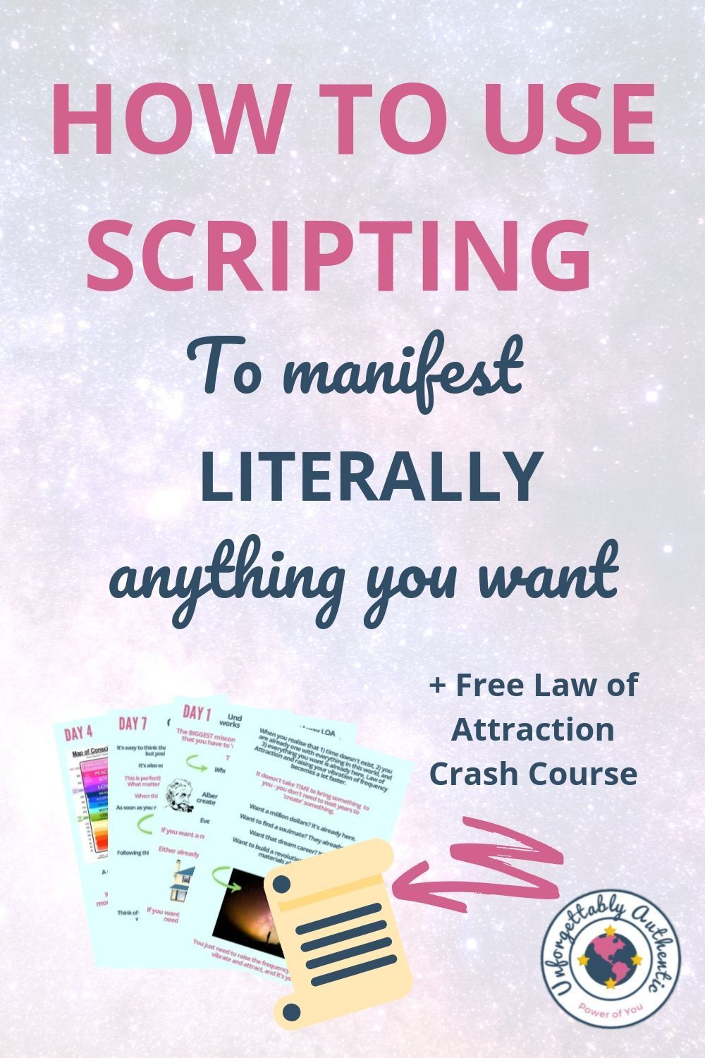 Manifest anything you want with the law of attraction
