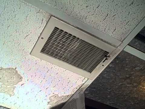 Water Stains From White Ceiling Tiles