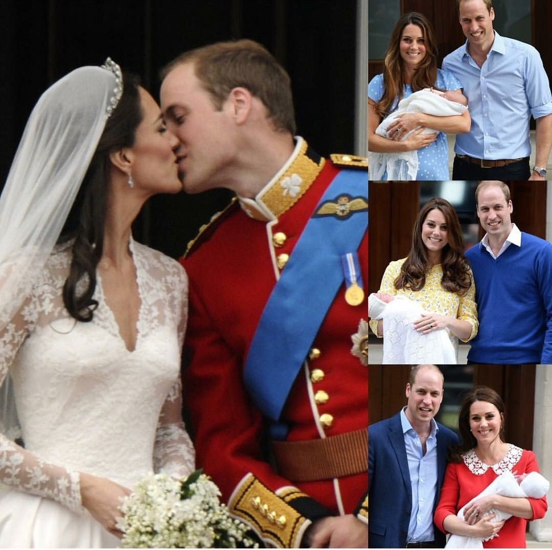 The duke and duchess of cambridge yrs together yrs of marriage