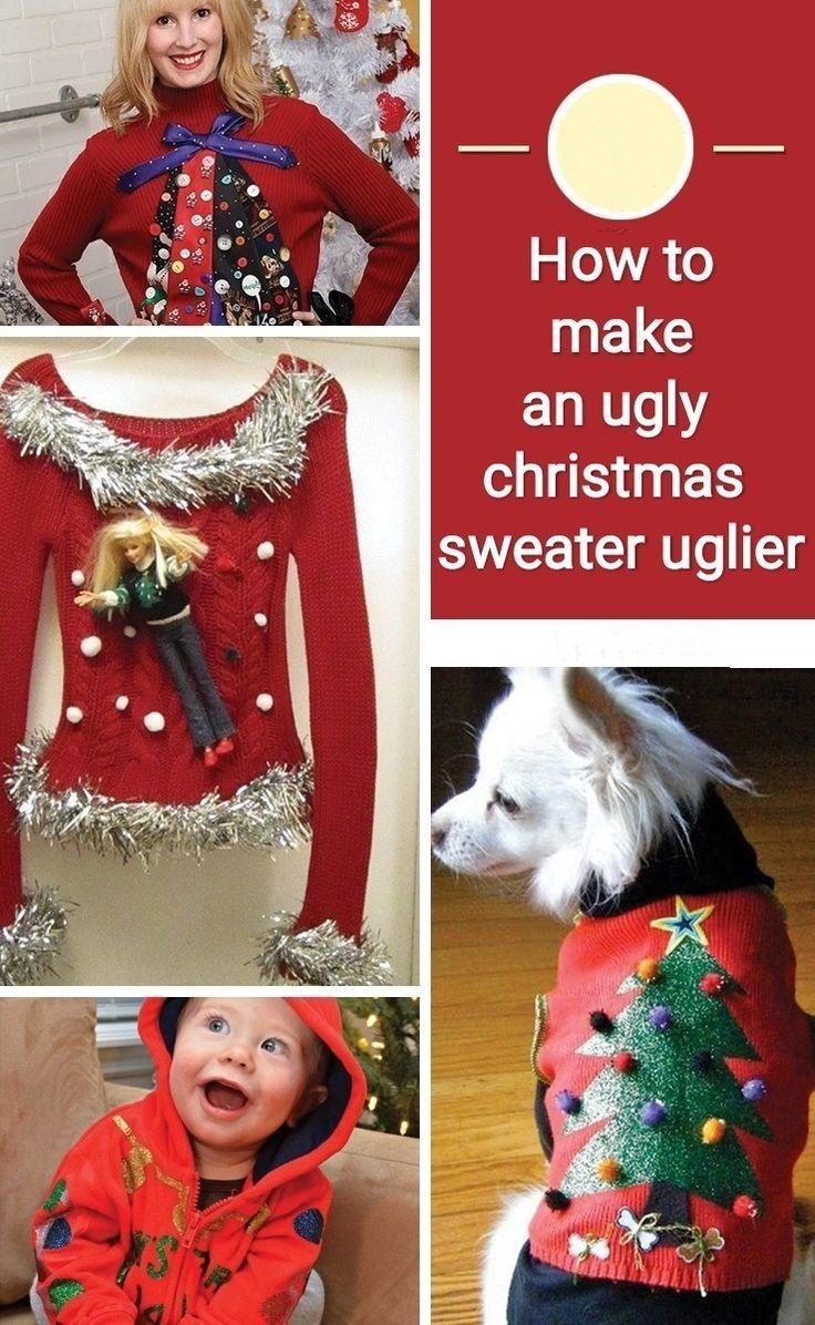How to make an ugly christmas sweater uglier #uglychristmassweatersdiy ugly christmas sweater,christmas,how to make an ugly christmas sweater,ugly sweater,sweater,ugly,christmas sweater,ugly christmas sweaters,diy ugly christmas sweater,ugly sweater challenge,best ugly christmas sweater,ugly christmas sweater party,princess ugly christmas sweater party,how to,how to make a christmas sweater,how to make christmas sweater,ugliest christmas sweater,ugly sweater party #uglychristmassweatersdiy
