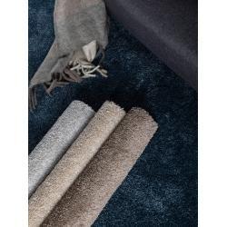 Photo of benuta Essentials Shaggy Teppich Wisby Blue 140×200 cm – Langfloriger Teppich für Wohnzimmer