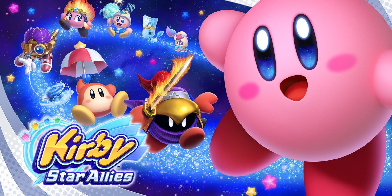 Kirby Star Allies has seen a visual boost from the last trailer. http://bit.ly/2lnzap3 #nintendo