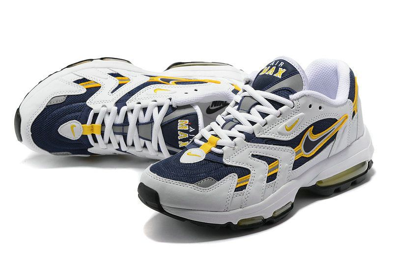 Michigan Nike Air Max 96 Yellow Navy Blue White | Nike air