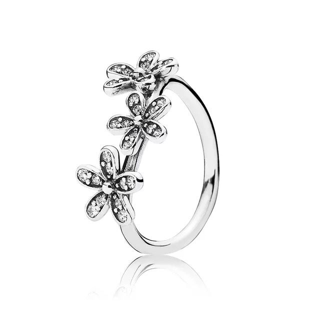 fba8ff51a 925 sterling silver ring flower ring | My Jewelry Collection ...