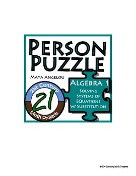 Person puzzle systems with substitution maya angelou worksheet person puzzle systems with substitution maya angelou worksheet fandeluxe Images