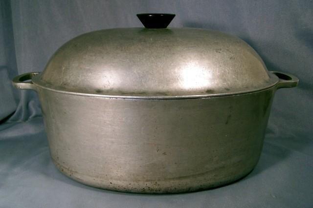 Vintage Majestic Cookware Aluminum Dutch Oven Roaster Aluminum Dutch Oven Dutch Oven Aluminum