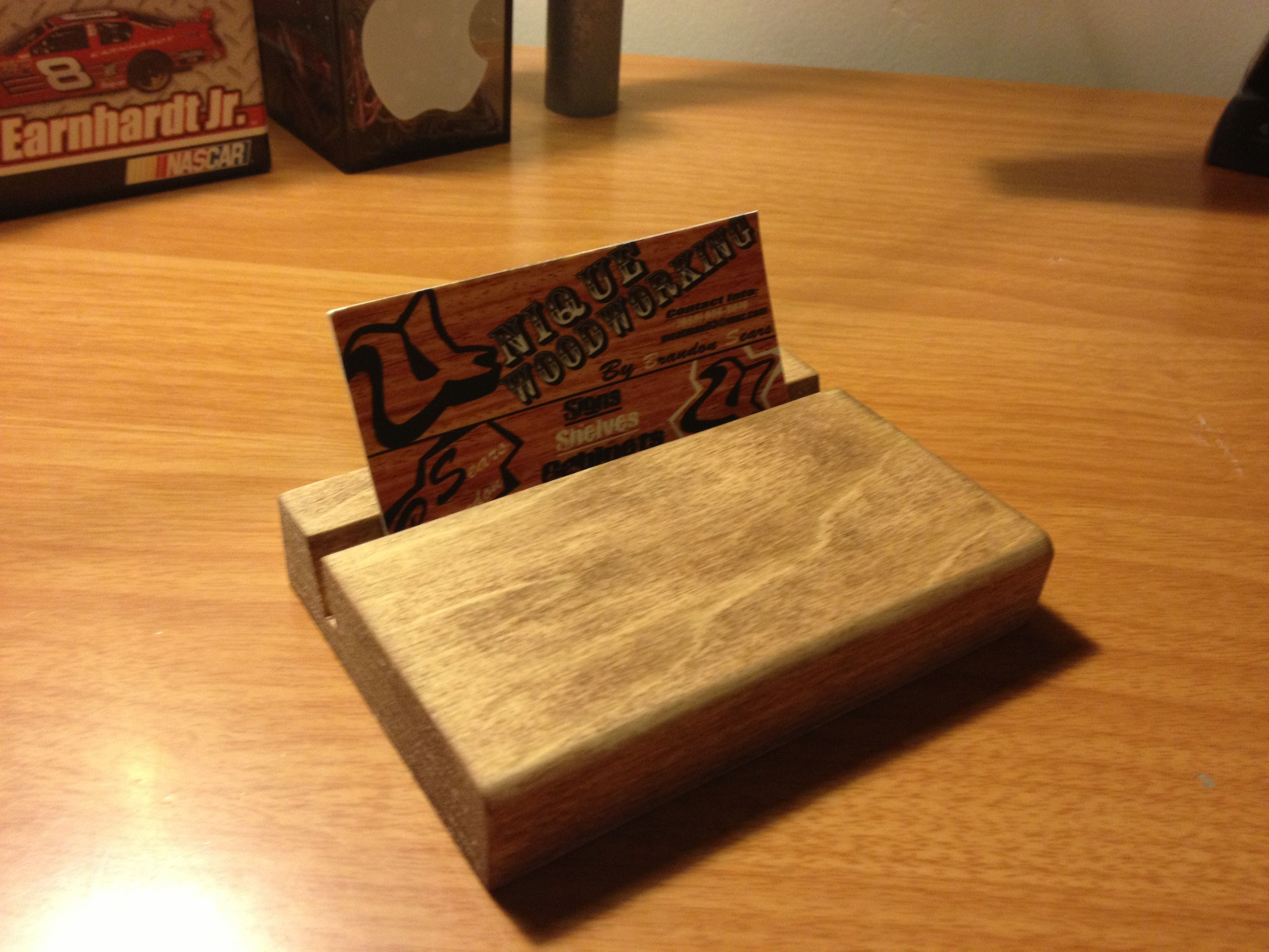 Woodworking business card holder pinterest woodworking woodworking business card magicingreecefo Image collections