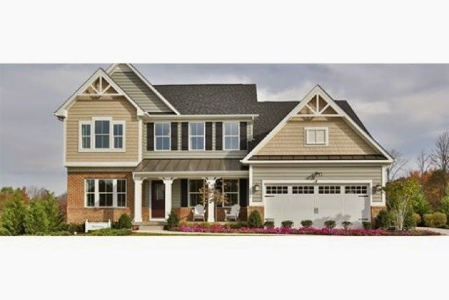 Sandy Tan And Spanish Olive Our Siding Choices But With